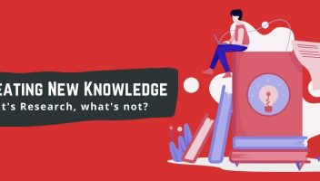 Creating New Knowledge Whats Research Whats Not